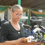 Elisabeth Moundo de l'Unesco Photo Gaëtan Noussouglo