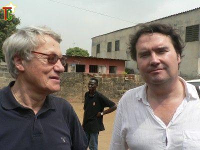 Marc Arbogast à Lomé pour son Musée Vodou