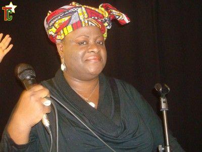 Vanessa Worou en Concert à Valentigney en France Photo: Gaëtan Noussouglo
