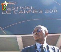 Madjé Ayité, le réalisateur Togolais était à Cannes