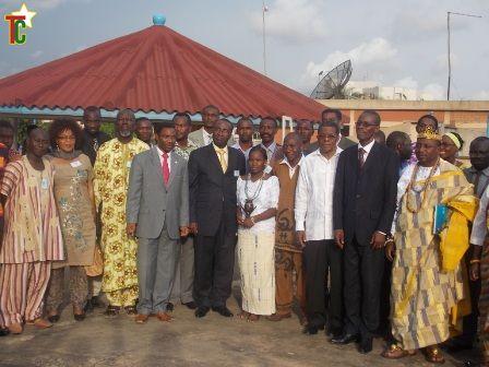 Des artistes togolais unis autour du désarmement et de la paix