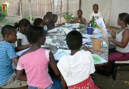 Sabine Medo forme les enfants défavorisés