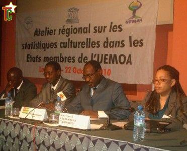 Atelier régional sur les statistiques culturelles dans les pays de l'UEMOA: Mesurer la culture, un enjeu important aujourd'hui