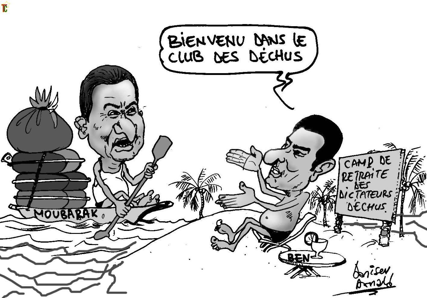 Le Festival de caricature démarre ce samedi 9 avril 2011 à Kpalimé