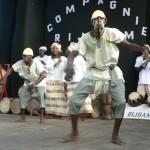 Danseurs de la Cie Rijdam Photo: Gaëtan Noussouglo