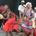 Danseurs de la Compagnie Rijdam Photo: Gaëtan Noussouglo