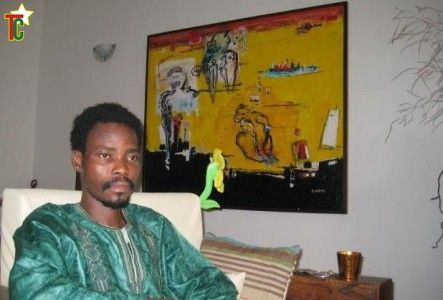 Le sculpteur Dominique Zinkpe et la gémellité en afrique de l'ouest