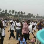 Les dimanches: La plage de Lome se remplit de monde