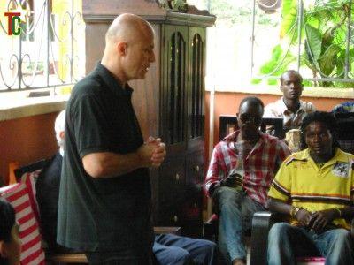 Olivier Poivre d'Avor a  Lomé pour relancer la culture
