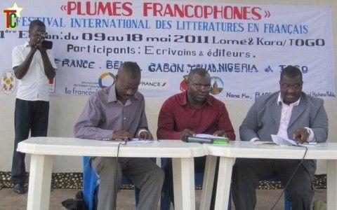 Lancement de la première édition du festival international des littératures en français « Plumes Francophones »