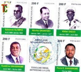 Exposition : Timbres poste togolais de l'Indépendance à nos jours