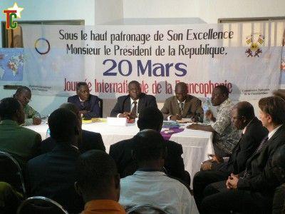 Célébration du 20 mars 2011, Journée Internationale de la Francophonie au Togo : Interculturalité, coopération et jeunesse.