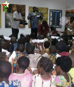 Goethe-Institut Togo au service du livre pour enfants