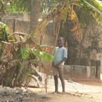 Un enfant pisseur de Lomé