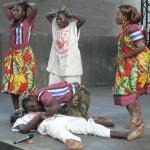 Pantomime de la Cie Rijdam Photo: Gaëtan Noussouglo