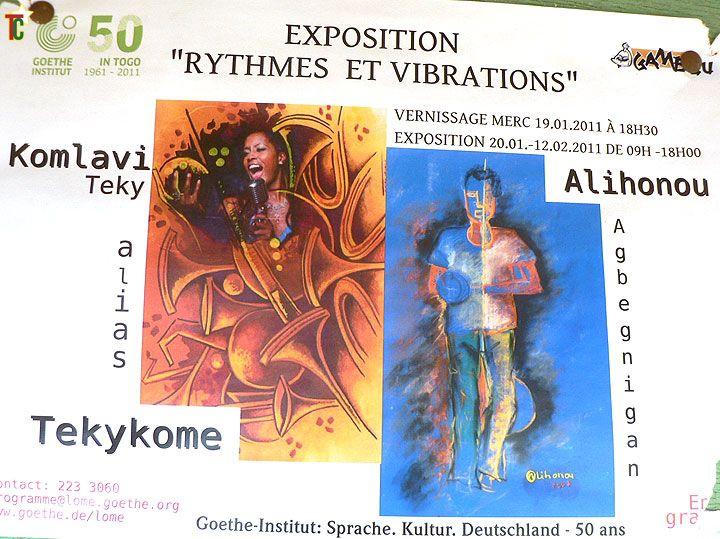 Tekykome et Alihonou ont « vibré » au Goethe Institut de Lomé