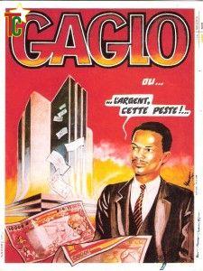 Affiche Gaglo ou l'argent cette peste de Koffi Gomez