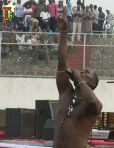 Kezita et Ape'son se produisent au CCF de Lomé