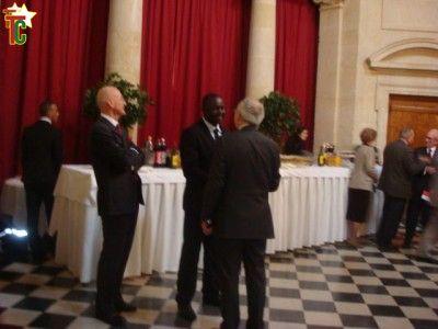 Gerry TAAMA,  honoré du prestigieux Prix Littéraire de la Saint-cyrienne à Paris.