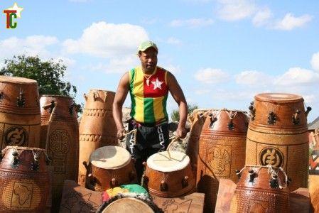Master Drummer Sylvester Agbedoglo