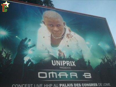 Omar B. fait exploser le Palais des Congrès de Lomé