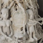 Vue des éléments composants l'autel de Mami wata Photo: Gaëtan Nousouglo