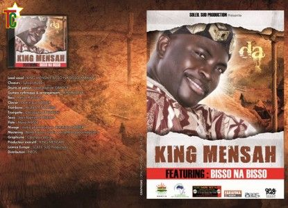 plaquette de l'album  Da de  King Mensah