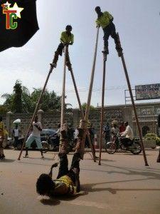 Les compagnies de danse « Tchébé Tchébé » et « Nukunu Capoeira » fusionnent leurs connaissances