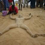 Bob Attisso L'africain enchainé la Plage de Lomé © Togocultures