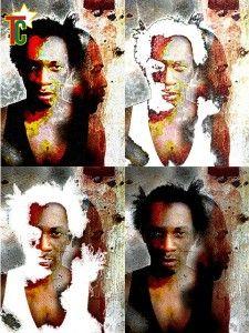 Le peintre togolais Cham: la brèche du numérique