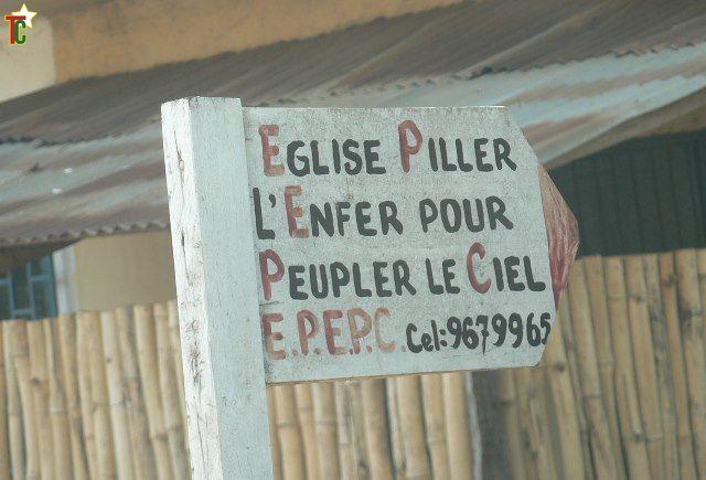 Noms atypiques des églises ou sectes chrétiennes du Togo !