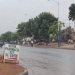 La pluie est de garde à Lomé Photo: Gaëtan Noussouglo