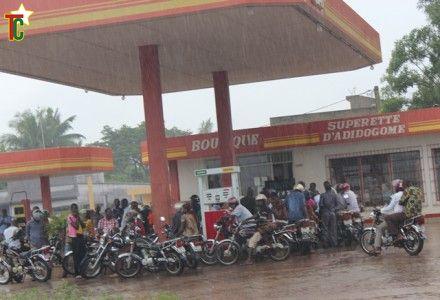 Quand il pleut à Lomé