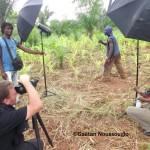 Charles Fréger Chez les asafo ou asonfos du Togo © Gaëtan Noussouglo
