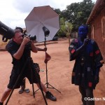 Charles Fréger chez les Asafo ou Asonfo © Gaëtan Noussouglo