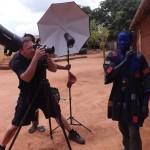 Charles Fréger chez les Asafos ou Asonfos du Togo Photo: Gaëtan Noussouglo