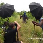 Charles Fréger et les Asafo ou Asonfos du Togo © Gaëtan Noussouglo
