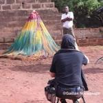 Charles Fréger et les Zangbeto du Togo © Gaëtan Noussouglo