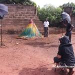 Charles Fréger et les Zangbéto ou Kelegbeto du Togo © Gaëtan Noussouglo