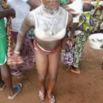 Danseuse Tchimou Photo: Noël Tingayama Mawo