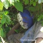 Un Asafo ou Asonfo du Togo au repos © Gaëtan Noussouglo