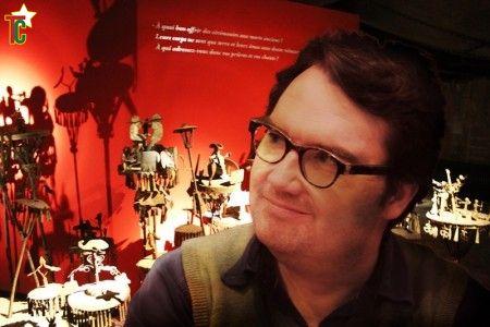 Bernard Muller au Musee Vodou photo Gaetan Noussouglo