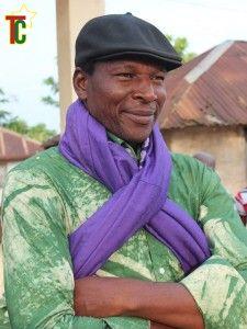 Le conteur et musicien Roger Atikpo Photo: Gaëtan Noussouglo