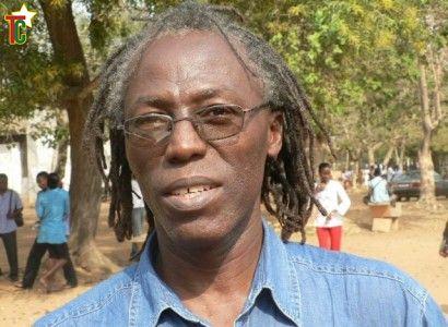 Togoata Apédo-Amah à l'Université de Lomé Photo: Gaëtan Noussouglo