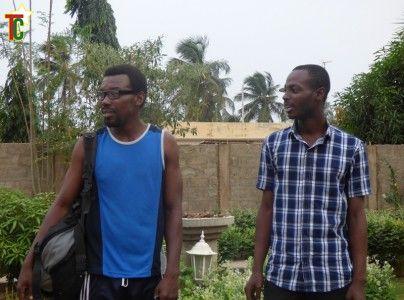 Seyram Agbalekpor et Joel Ajavon Photo Gaetan Noussouglo
