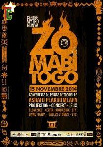 Zomabi affiche de l'événement au Centre Culturel Mitronunya