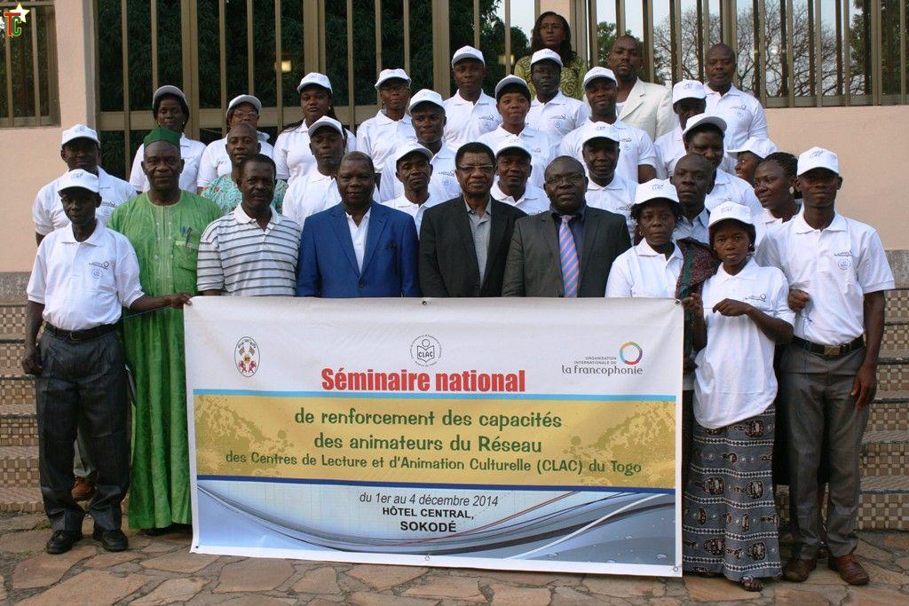 Formation des animateurs du réseau Centre de Lecture et d'Animation Culturelle du Togo à Sokodé