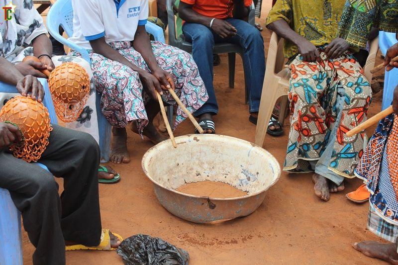 Gadzo, la danse frénétique des Ewé et des Akposso du Togo
