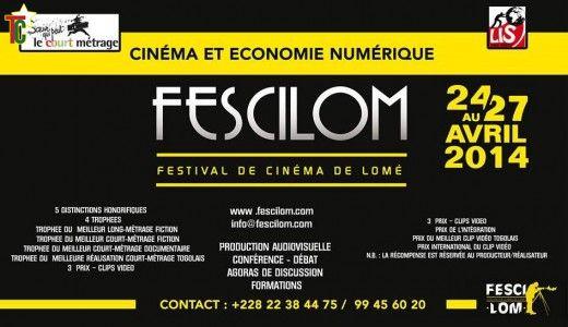 Le Festival de Cinéma de Lomé se déroule du 16 au 20 Juin 2015