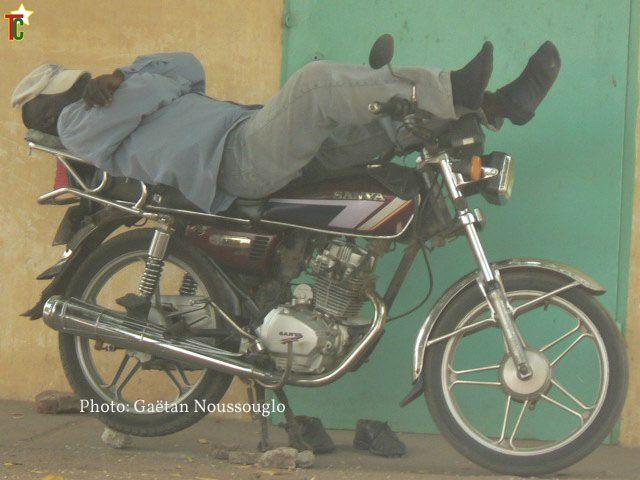Le repos du Zem au Togo